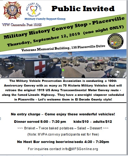 Military History Convoy Flyer